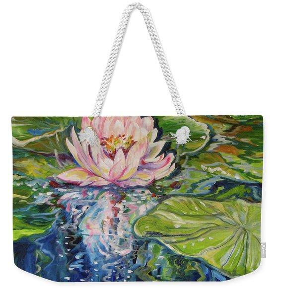 Solitude Waterlily Weekender Tote Bag