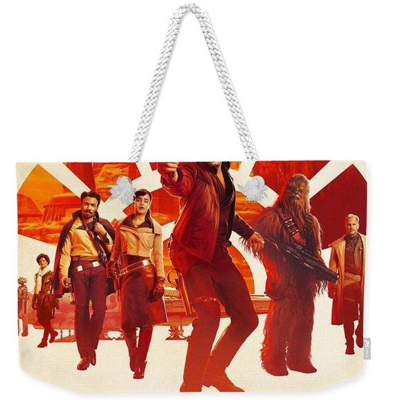 Solo A Star Wars Story Weekender Tote Bag