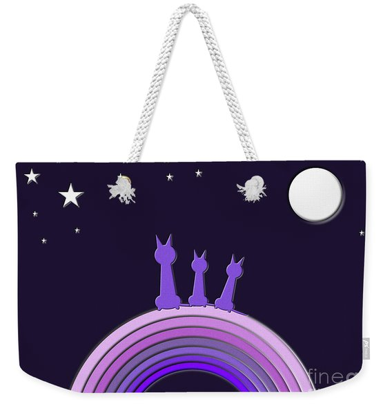 Somewhere Over The Rainbow Weekender Tote Bag