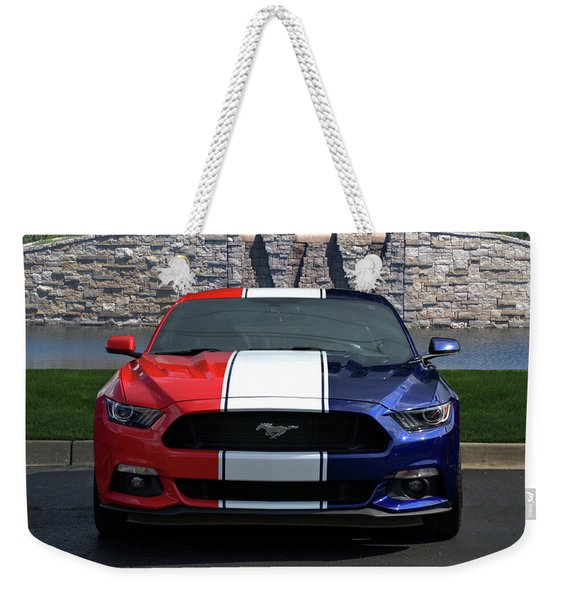 Special Edition 2016 Ford Mustang Weekender Tote Bag