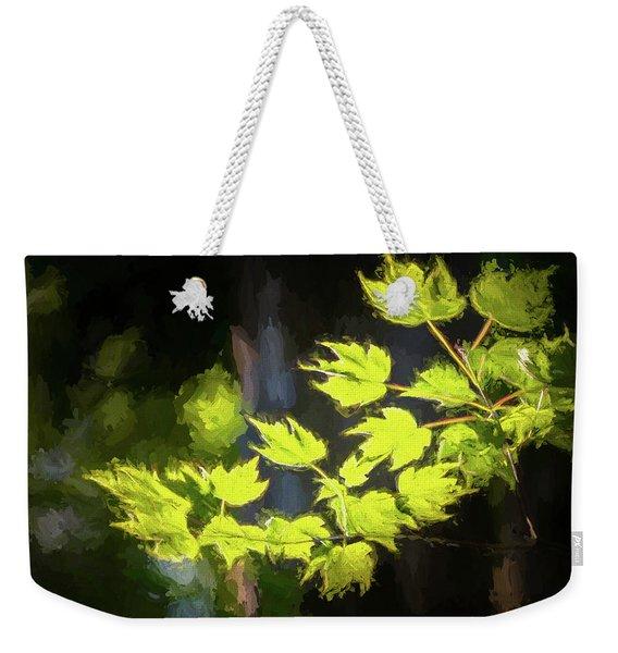 Spring Color Weekender Tote Bag