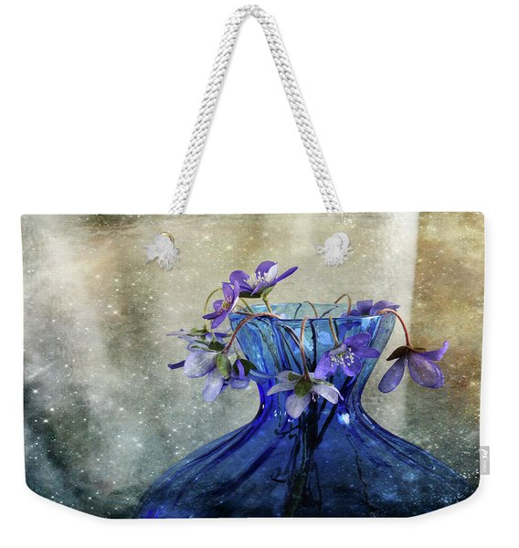 Spring Greeting Weekender Tote Bag