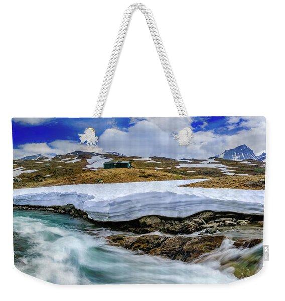 Spring Waters Weekender Tote Bag