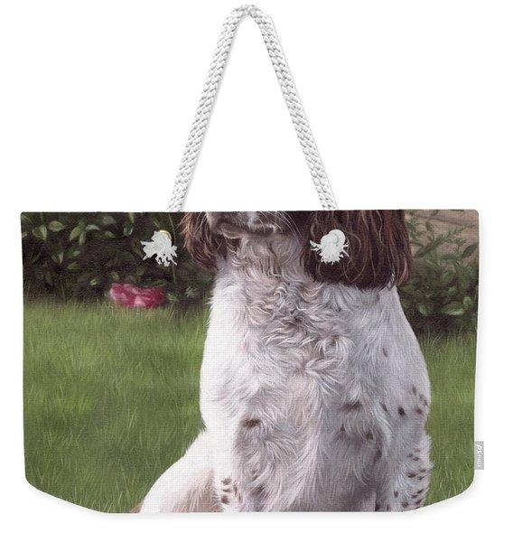 Springer Spaniel Painting Weekender Tote Bag