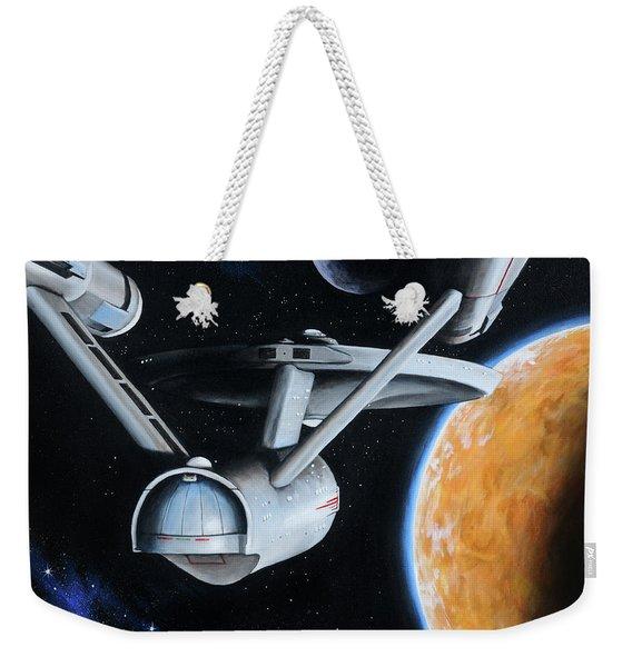 Standard Orbit Weekender Tote Bag