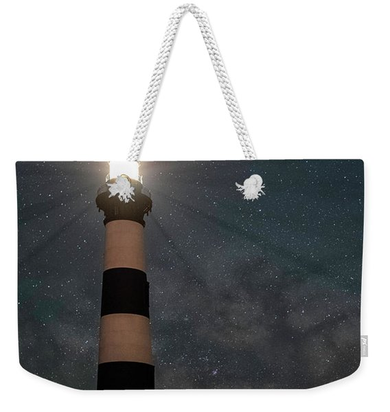 Stars Over Bodie Lighthouse Weekender Tote Bag