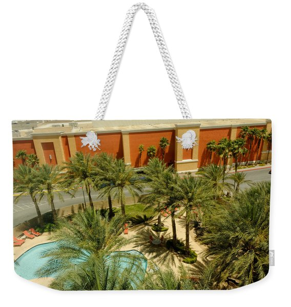 Staycation Upgrade Weekender Tote Bag