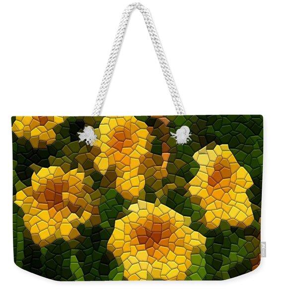 Stella D'oro Daylily Weekender Tote Bag