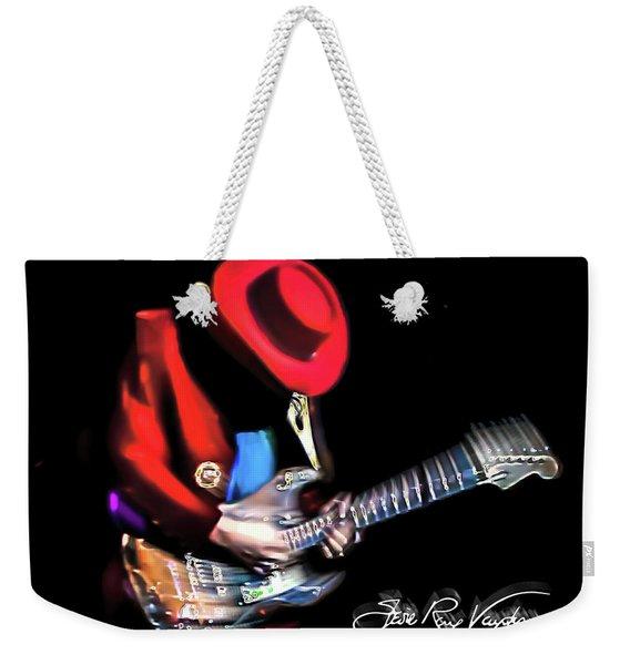 Stevie Ray Vaughan - Texas Flood Weekender Tote Bag