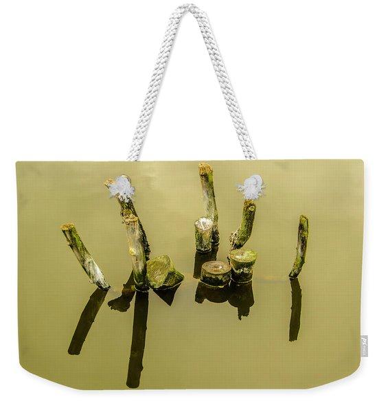 Sticking Out Weekender Tote Bag