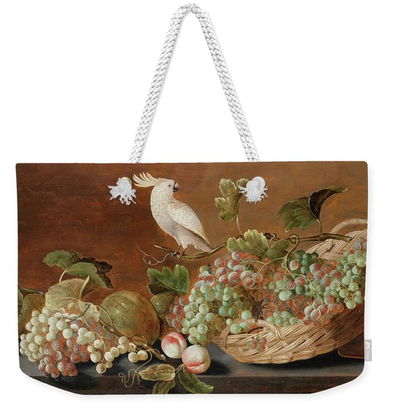 Still Life With Parrot  Weekender Tote Bag