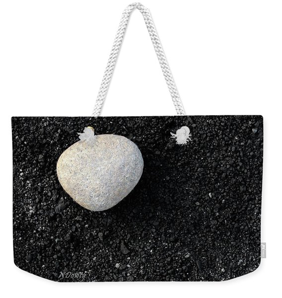 Stone In Soot Weekender Tote Bag