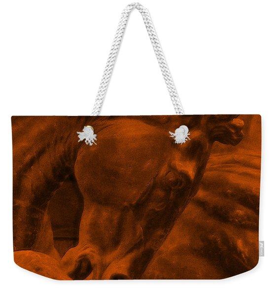 Stone Steed Reds Weekender Tote Bag