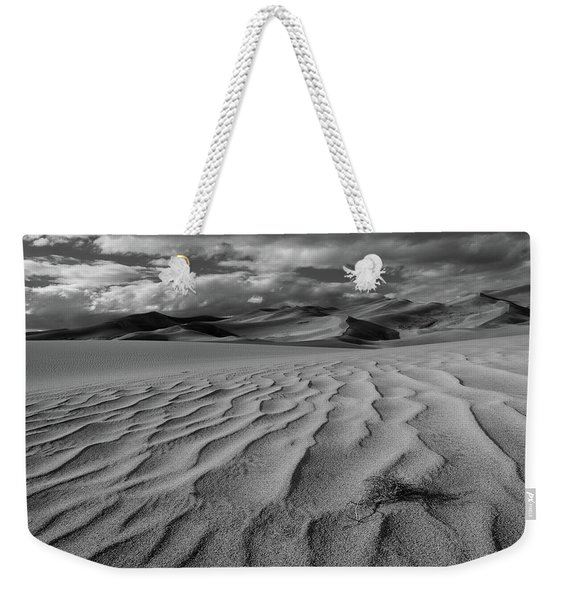 Storm Over Sand Dunes Weekender Tote Bag