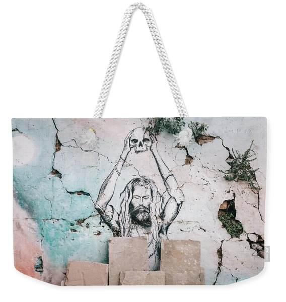 Street Art Weekender Tote Bag