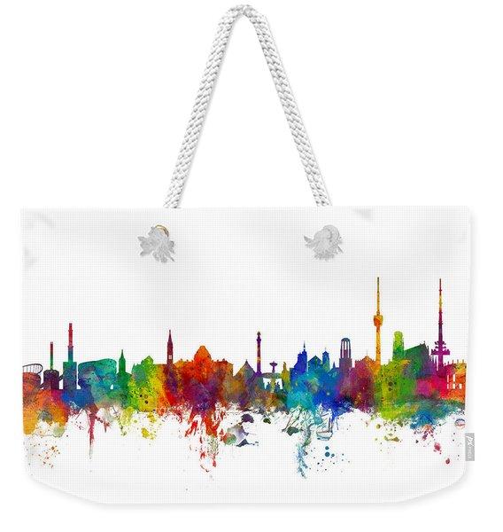 Stuttgart Germany Skyline Weekender Tote Bag