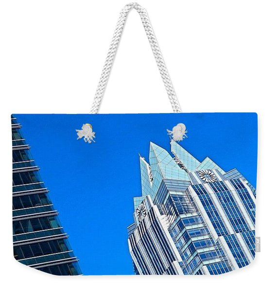 Such A Perfect #bluesky Day In Weekender Tote Bag