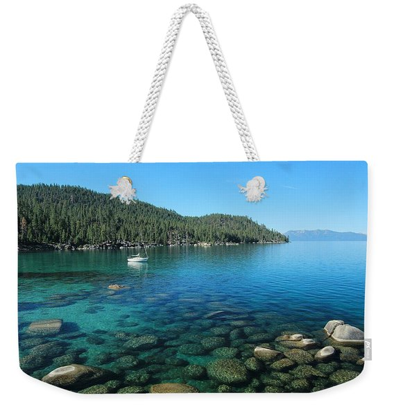 Summer Anchor Weekender Tote Bag