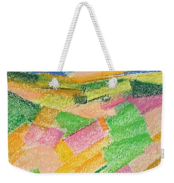 Summer Fields  Weekender Tote Bag