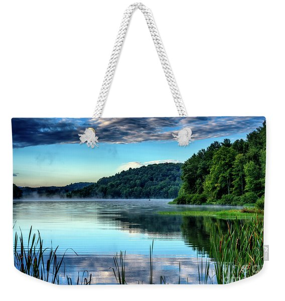 Summer Morning On The Lake Weekender Tote Bag
