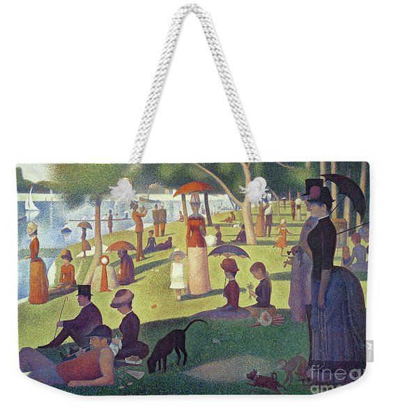 Sunday Afternoon On The Island Of La Grande Jatte Weekender Tote Bag