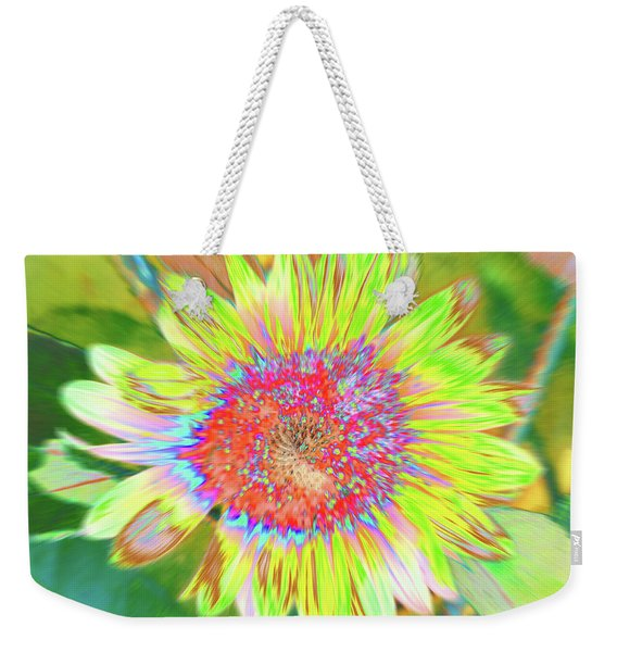 Weekender Tote Bag featuring the photograph Sunnyside by Cris Fulton