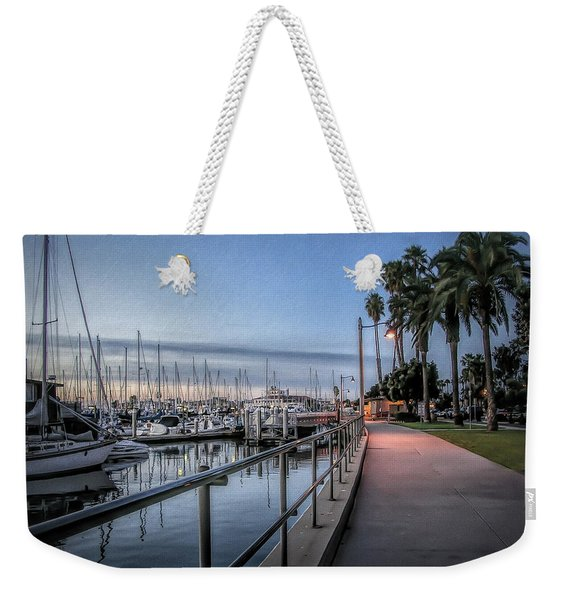 Sunrise Over Santa Barbara Marina Weekender Tote Bag