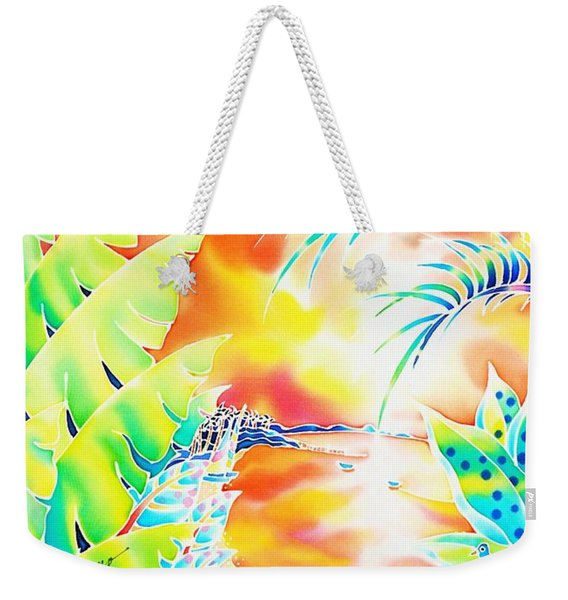 Sunset Cocktail Weekender Tote Bag