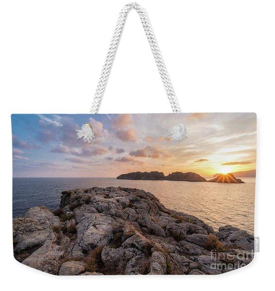 Sunset Malgrats Islands Weekender Tote Bag