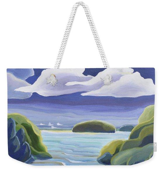 Swans Weekender Tote Bag