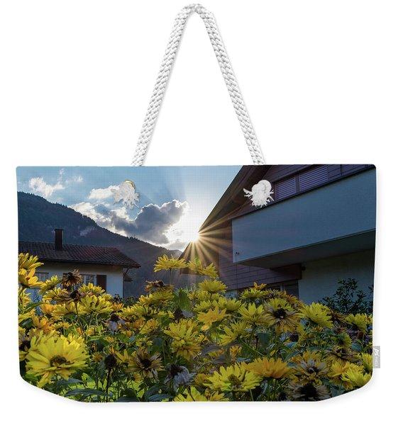 Swiss Sun Beam  Weekender Tote Bag