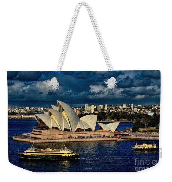Sydney Opera House Australia Weekender Tote Bag