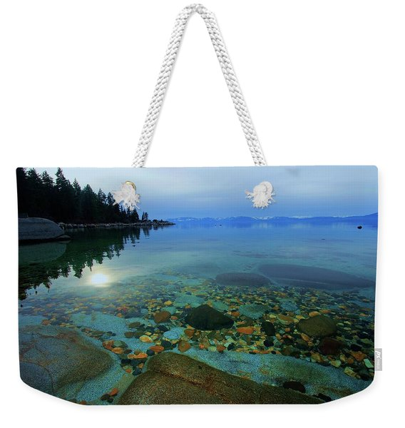 Tahoe Twilight Weekender Tote Bag