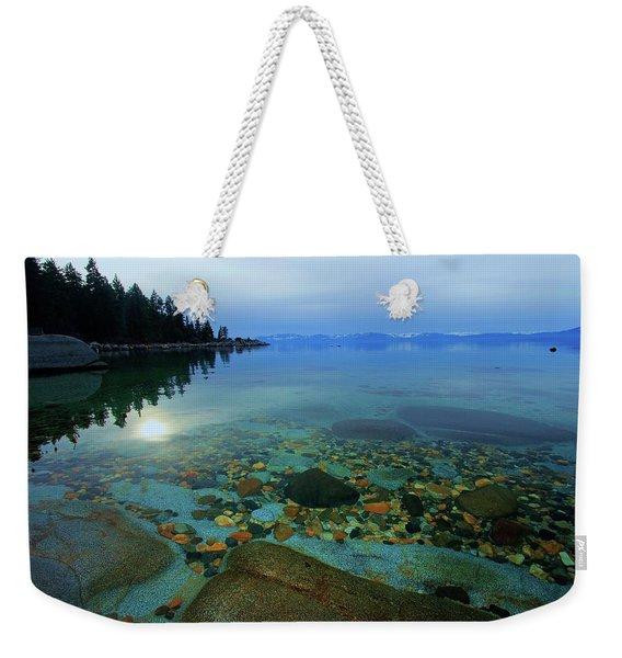 Tahoe Twilight Weekender Tote Bag