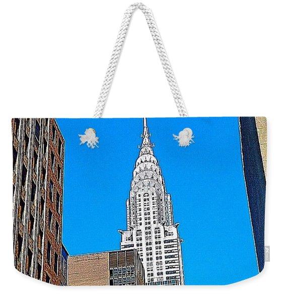 #tbt - #newyorkcity June 2013 Weekender Tote Bag