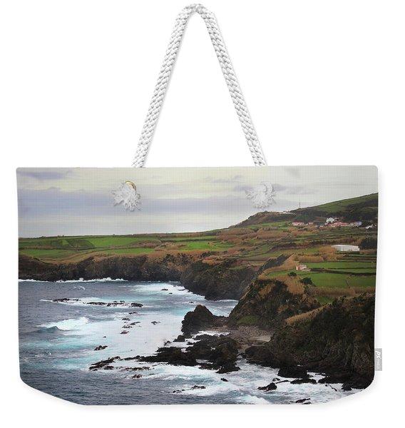 Terceira Coastline Weekender Tote Bag