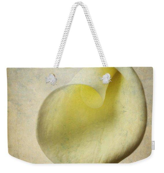 Textured Calla Weekender Tote Bag