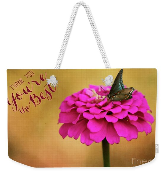 Thank You Weekender Tote Bag