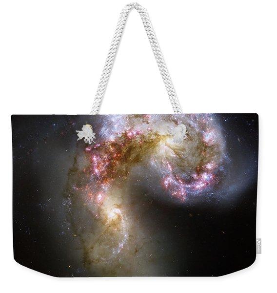 The Antennae Galaxies Weekender Tote Bag