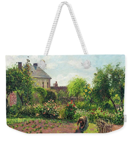 The Artist's Garden At Eragny Weekender Tote Bag