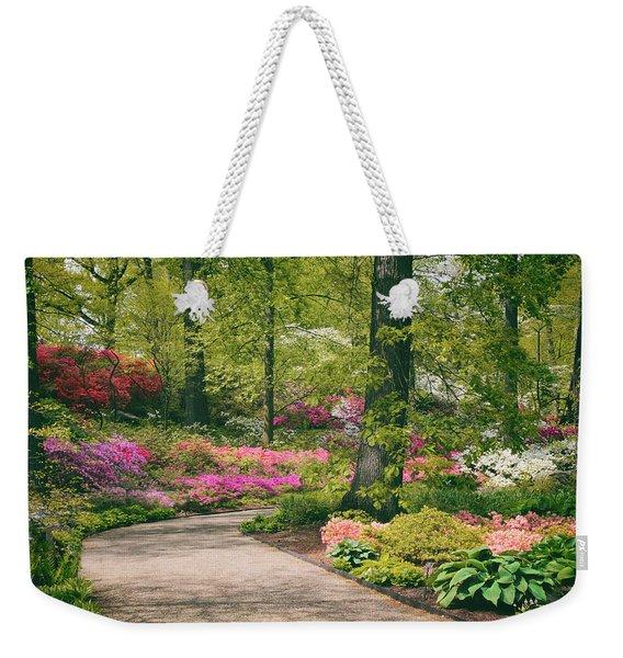 The Azalea Path Weekender Tote Bag