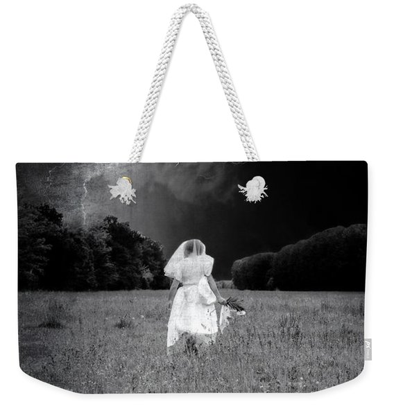 The Bride Weekender Tote Bag