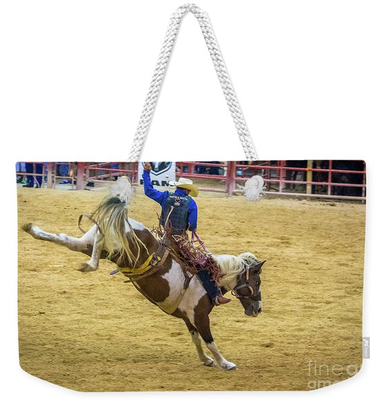 The Bucking Horse Weekender Tote Bag