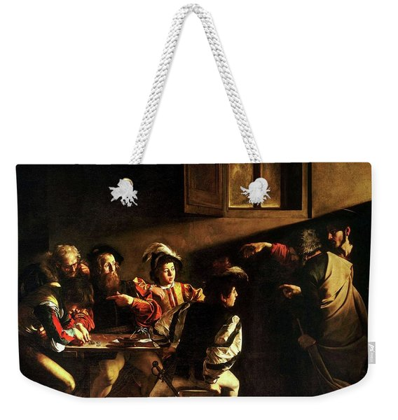 The Calling Of St. Matthew Weekender Tote Bag