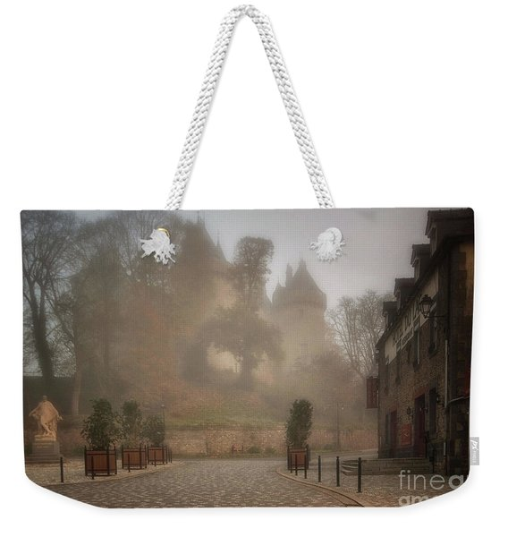 The Castle In The Myst Weekender Tote Bag