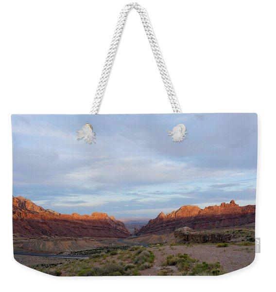 The Castles Near Green River Utah Weekender Tote Bag
