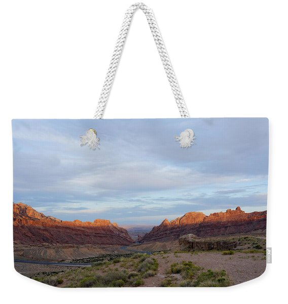 The Castles Near Green River Utah Weekender Tote Bag