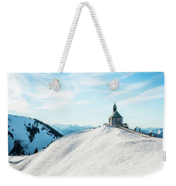 The Chapel In The Alps Weekender Tote Bag