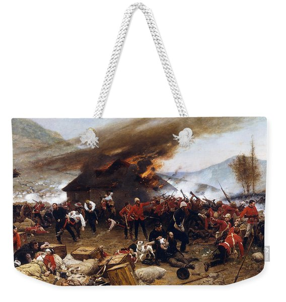 The Defence Of Rorke's Drift 1879 Weekender Tote Bag