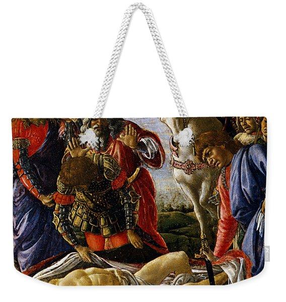 The Discovery Of Holofernes' Corpse Judith Returns From The Enemy Camp At Bethulia Weekender Tote Bag